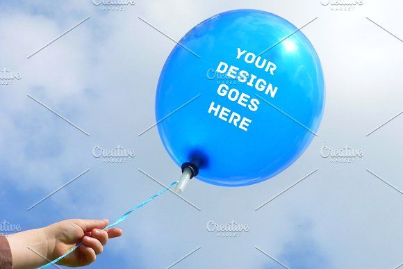Air Balloon Mock Up 3 Free Psd Mockups Templates Mockup Free Download Mockup Free Psd