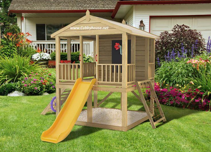 Mangopak cubby house, australian-made, wooden cubby house, diy cubby house kits, cubby houses