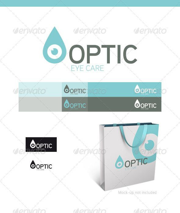 optic eye drop logo template business cards graphics and business card design. Black Bedroom Furniture Sets. Home Design Ideas