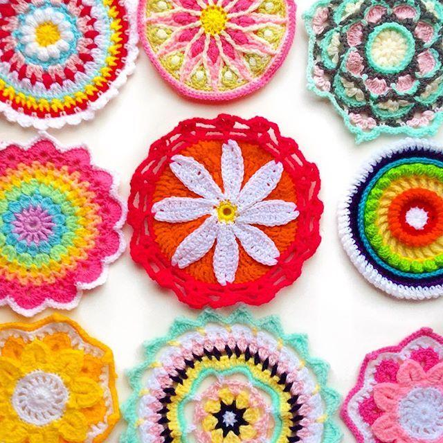 All the mandalas- many more not pictured 🙌 (Tap for Pattern designers) ⠀⠀⠀⠀⠀⠀⠀⠀ ⠀⠀⠀⠀⠀⠀⠀⠀ ⠀⠀⠀⠀⠀⠀⠀⠀ _____________________   ____________________   #crochetgirlgang #craftastherapy  #craftcolourmyday  #clevercrafters #grannysquaresrock #virka #crochetconcupiscence #petalcrush #bhooked  #mygrannysquares #häkeln #yarnspirations  #myloveforwip #sharethecrochetlove  #sfmgsswoon  #ganchillo #technicolourcrafters #mandala #crochetmandala #wipwednesday #spotlightstores