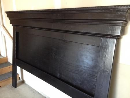 Moulding Mantel headboard variation | Do It Yourself Home Projects from Ana White