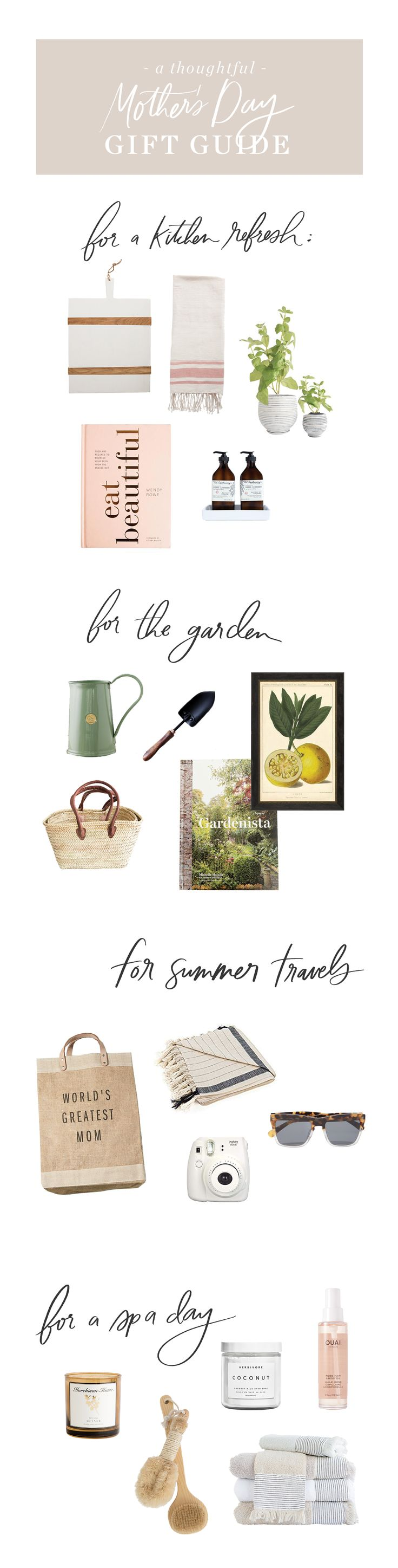 Our Gift Guide For Mother's Day – Studio McGee Blog