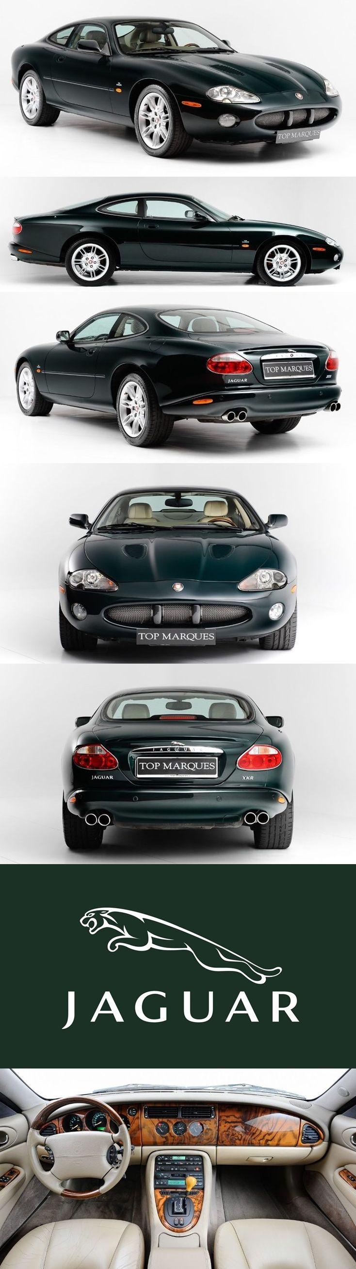 2001 Jaguar XKR Coupe 4.0