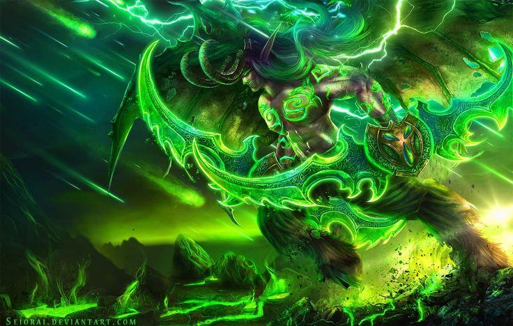 World Of Warcraft Legion Demon Hunter Illidan
