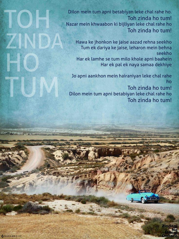 Licensed poster from the movie Zindagi Na Milegi Dobara (2011)
