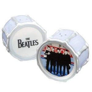The Beatles Drum Salt & pepperThe Beatles, Salts Peppers Shakers, Beatles Drums, Salt Pepper Shakers, Ceramics Salts, Beatles Official, Drums Salts, Drums Ceramics, Official Drums