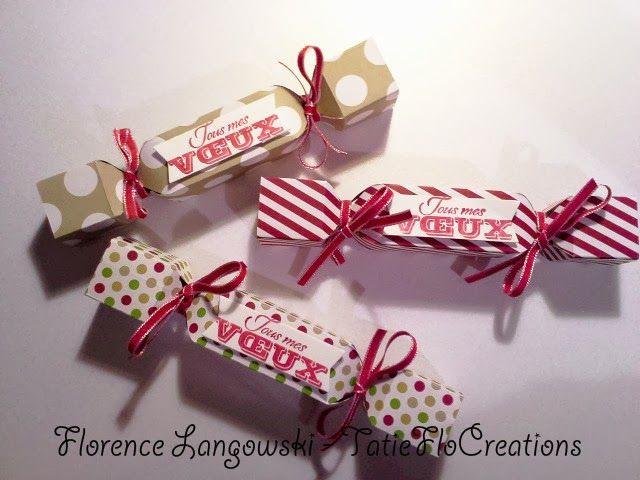 Papillotes de Noël avec l'insta'enveloppe