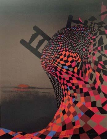 Nemesio Antunez, Pintor. CHILE. (1918-1993)
