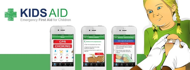 Must have Application for parents. The Kids Aid App is available for download on the App Store: https://itunes.apple.com/za/app/kids-first-aid/id604787142?mt=8