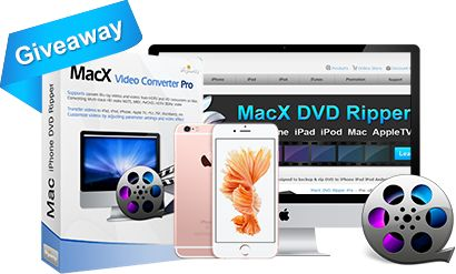 Apples iPhone 6S amazes its followers with 3D touch and 4K video record. But MacXDVD makes the gadget more fantastic as it sponsors a mega giveaway of MacX Video Converter Pro that supports the breakthrough H.265/HEVC video codec and facilitates…