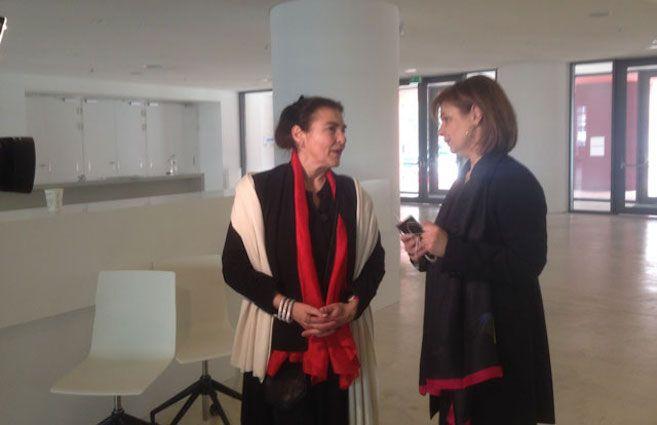 Στους χώρους του Εθνικού Μουσείου Σύγχρονης Τέχνης (ΕΜΣΤ), ξεναγήθηκε η Υπουργός Πολιτισμού και Αθλητισμού Λυδία Κονιόρδου