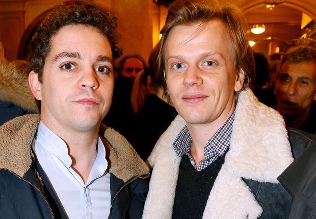 Bruno Sanches et Alex Lutz, alias Catherine et Liliane dans Le Petit Journal