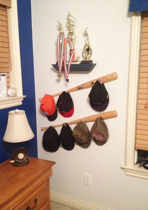 baseball bat peg hat racks slugger for caps australia cap walmart