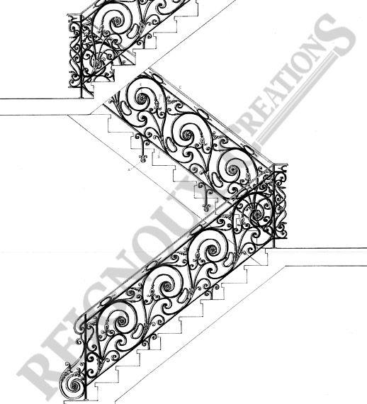 1348 best Wrought Iron images on Pinterest Stair banister - dessiner une maison en 3d