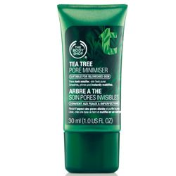 Mattifying Tea Tree Pore Minimiser Primer | The Body Shop | The Body Shop ® - Doesn't seem to fill pores or mattify. Disappointing product
