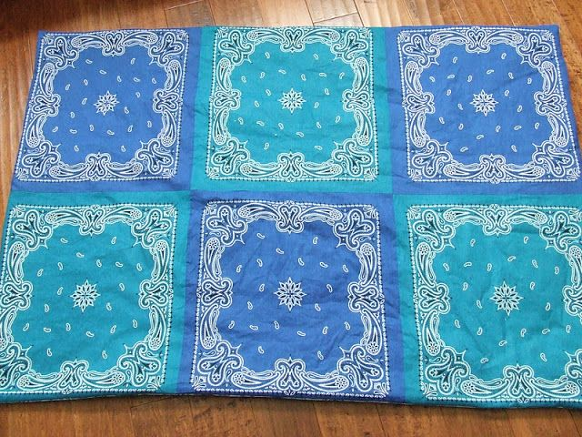 Waltzing Matilda: Bandana Blankets :: a tutorial and a giveaway!!!