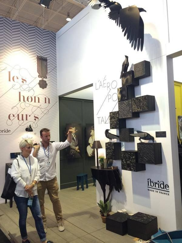 L'AEROPOSTALE, Wall Version #RADform #newcollection #ibride #modernfurniture #interiordesign #MO14 #parisdesignweek