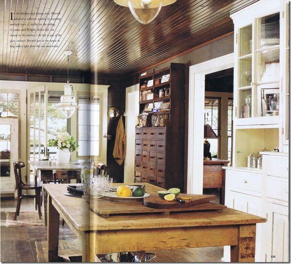 I love this kitchen: Message in a Bottle movie sets-Coastal Living-kitchen