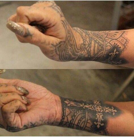 Tattoos of the Day  - Sexy Rihanna Tattoos