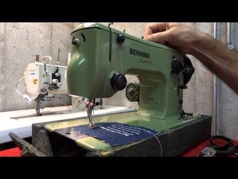 Bernina Favorit 540 Demonstration - YouTube