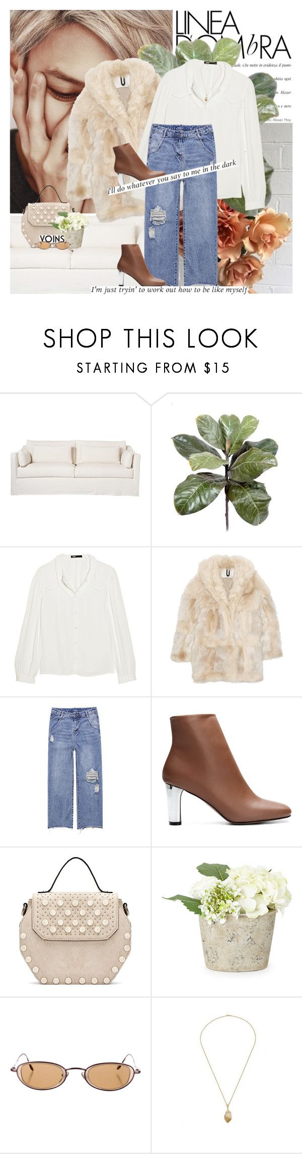 """""""do something special for yourself today"""" by rupp ❤ liked on Polyvore featuring Maje and Topshop Unique"""