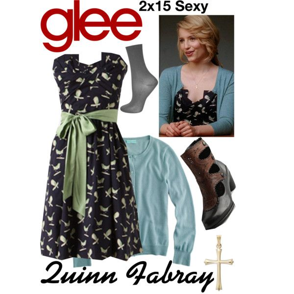 Quinn Fabray (Glee) : 2x15 by aure26 on Polyvore featuring Topshop and glee