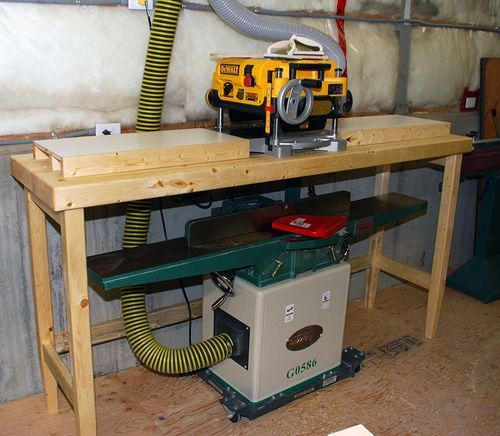 17 Best Images About Planer Stand Work Bench On Pinterest