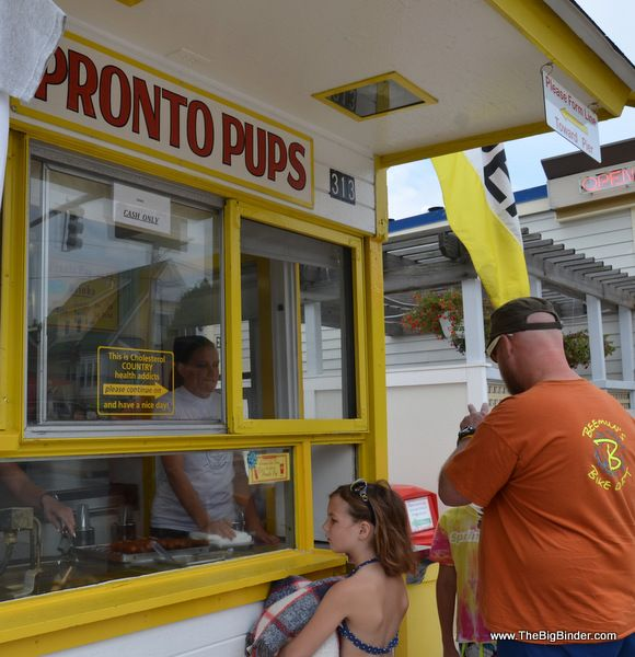Pronto Pups, of course! In Grand Haven, Michigan #spon