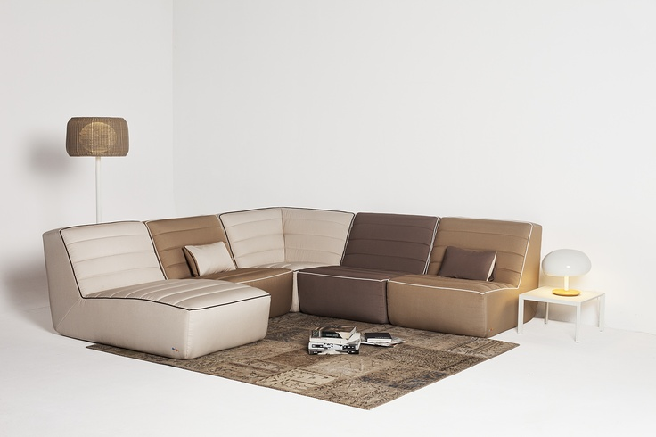 Domino sectional stone
