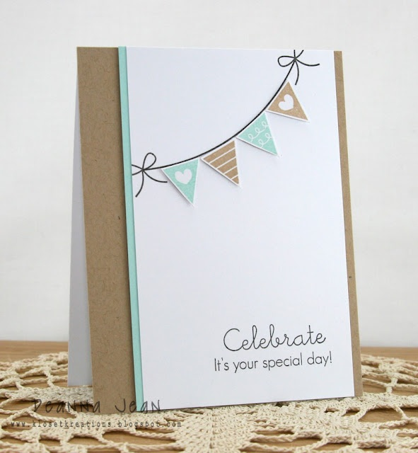 (Deanna Dean) A clean and simple card with a great composition.