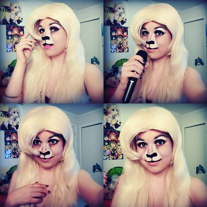 Makeup test of Gazelle from Zootopia! Still not sure if Ill cosplay her I didn't even see the movie yet XD I just went crazy when I knew that she has Shakira's voice XD #Gazelle #Zootopia #gazellezootopia #Zootopiagazelle #zootopiadisney #Disney #Gazellecosplay #Disneycosplay #Zootopiacosplay #Makeup #Cosplay #Costume #Rinkurose #costest #Cosplaymakeup
