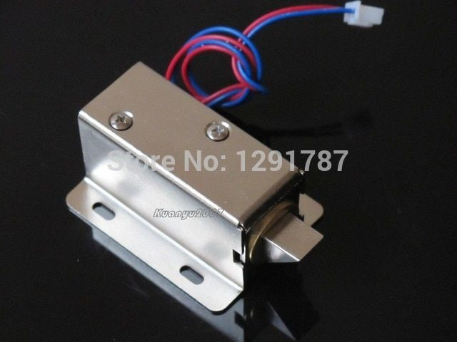 2pcs Cabinet Door Electric Lock Assembly Solenoid Dc 12v 0 6a For Drawer Sauna Lock Review Electric Lock Electronic Lock Electromagnetic Lock