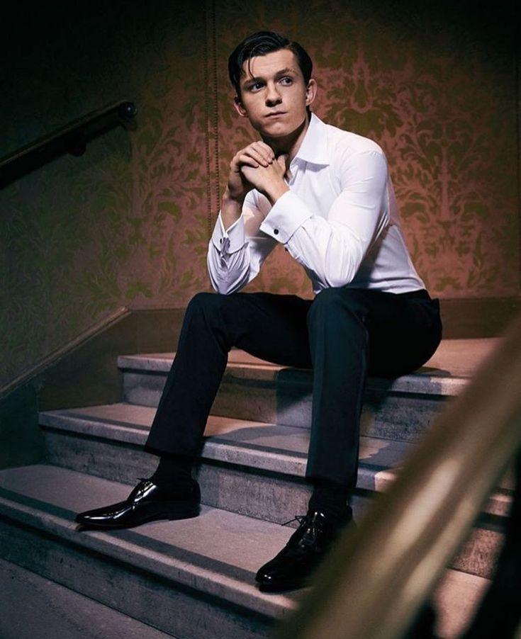 Tom Holland for Hollywood Reporter