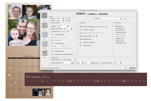 Adobe Indesign Calendar : Adobe indesign calendar wizard work stuff pinterest