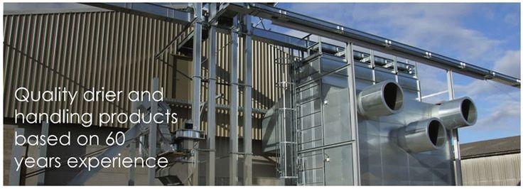 Grain dryers - Perry Grain Drying, Grain Handling, Grain Dryer.