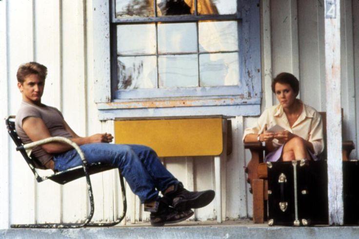 AT CLOSE RANGE, Sean Penn, Mary Stuart Masterson, 1986   Essential Film Stars, Sean Penn http://gay-themed-films.com/film-stars-sean-penn/