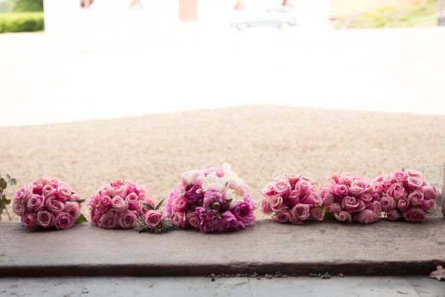 pink flowers, bridal bouquet, wedding flowers, roses, peonies