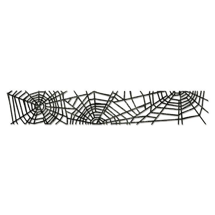 65,00 zł   658713 Sizzlits Decorative Strip Die - Cobwebs - pajęczyna