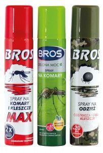 Zestaw Bros Anty Insekt to komplet środków przeciw komarom, meszkom i kleszczom.