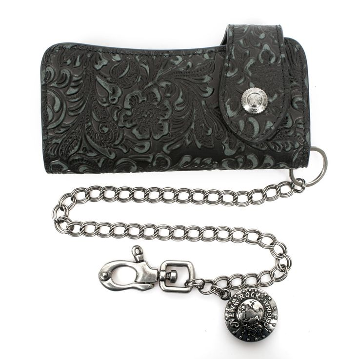 New Rock gothic genuine leather metal wallet. #newrock #wallet #goth #leather  You can purchase this wallet here: http://newrockaustralia.com/index.php?id_product=30607&controller=product