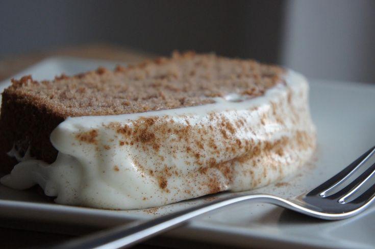 Spekulatius Rührkuchen glutenfrei mit Frosting