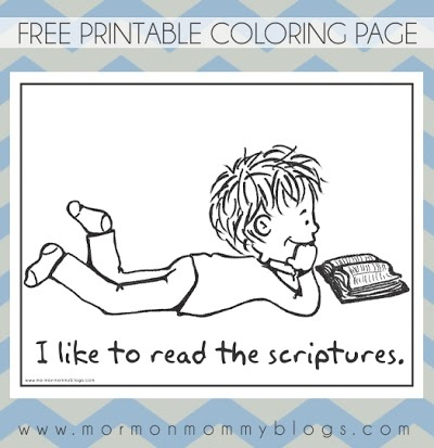 17 Best Images About Lds Coloring Pages On Pinterest