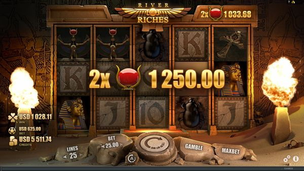 Play River of Riches: Get £€$100 FREE!