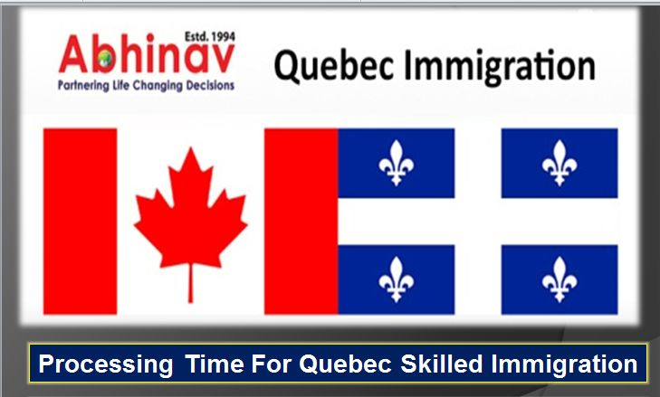 Processing Time for Quebec Immigration