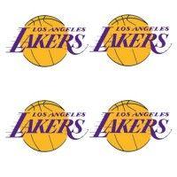 Tatouages temporaires des Los Angeles Lakers
