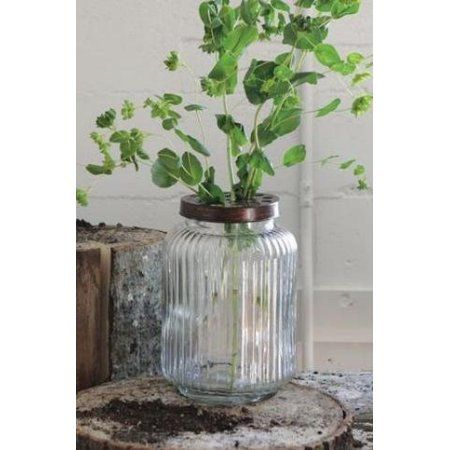 Free Shipping. Buy Creative Glass Jar with Wire Frog Lid, Measures 6.75 Round x 10H By Creative Co-op at Walmart.com