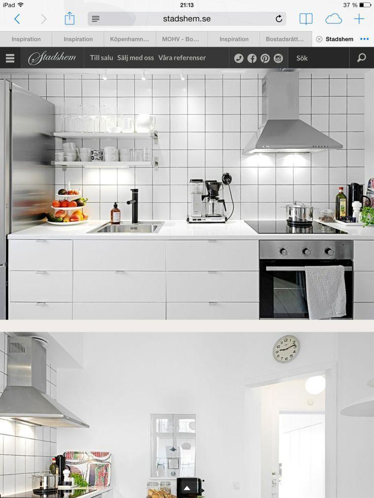 vitt kakel kök - Sök på Google