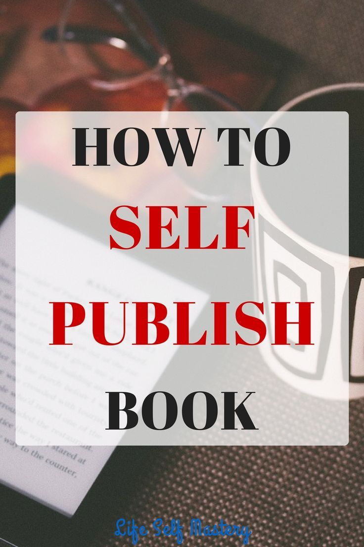 How to self publish book