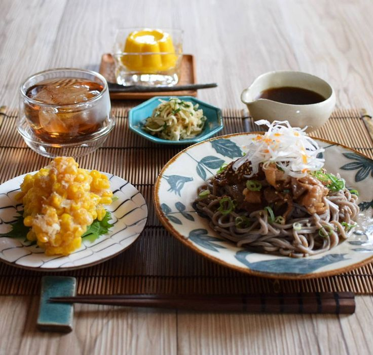· おうちごはん · ◇冷やし肉そば ◇とうもろこしの鶏胸肉唐揚 ◇切り干し大根梅紫蘇和え ◇マンゴープリン · 麺類率かなり高めです  マンゴープリンはKALDIで買ったもの  これも安いのに濃厚で美味しかった · · · · · · · · · · · · · #foodpic#locari_kitchen#japanesefood#delimia#LIN_stagrammer#cooking#onthetable#tablephoto#晩ごはん#夜ごはん#夕飯#おうちごはん#晩御飯#料理写真#器#献立#うちごはん#そば