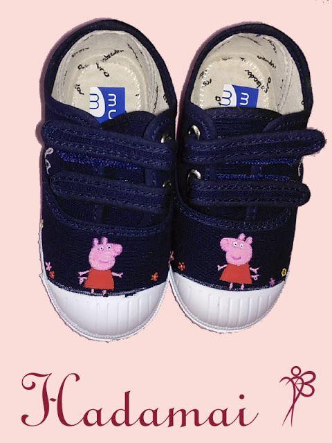 HADAMAI: Zapatillas personalizadas.